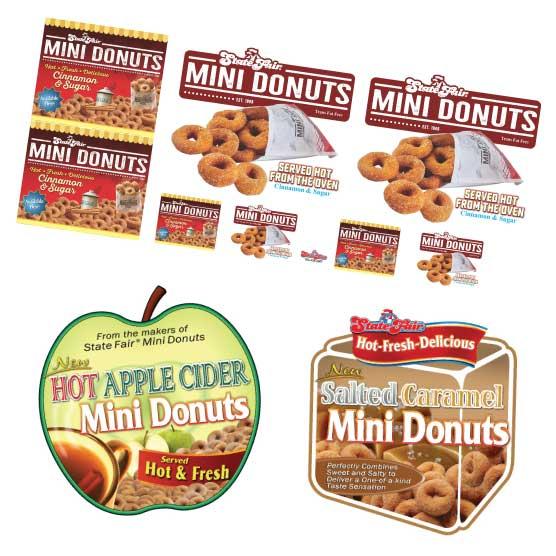 Mini Donut Banner State Fair Mini Donuts