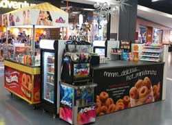 Mini-Donuts-in-Mall-in-Sydney-Australia