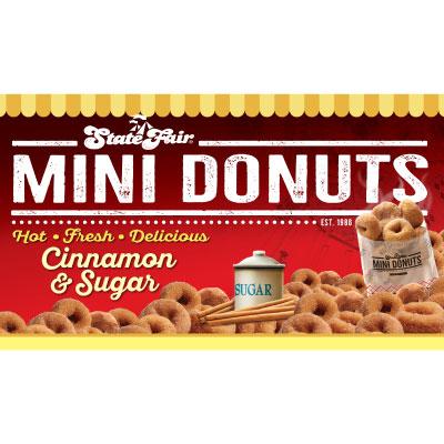 2x4 Classic Mini Donut Banner