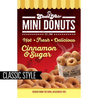 Classic Cinnamon & Sugar 11x17 Sign