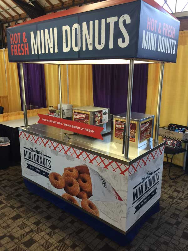 Concessions Cart State Fair Mini Donuts